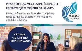 Tjedan karijera na Veleučilištu Baltazar Zaprešić